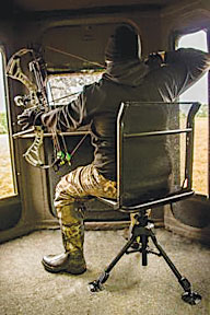 The Shadow Hunter Features A Silent 360 Swivel Seat Equipped With Sy Base And Techmesh Backrest For Unmatched Comfort