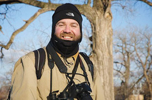 Amateur naturalist Mark Glenshaw has been documenting owl activity in Forest Park for 10 years. Edward Crim photo