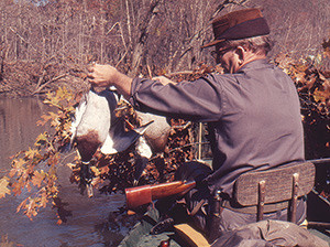 The author's father with some Big Piney mallards. 'We picked every duck we ever killed, saved the feathers and ate the necks, wings, breasts and legs. Dad said a man who wasted what the outdoors gave him had no right to be hunting, and he wanted nothing to do with him.'