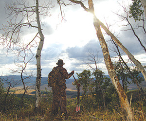 Federal public lands afford easterners views like this while hunting out west each year.